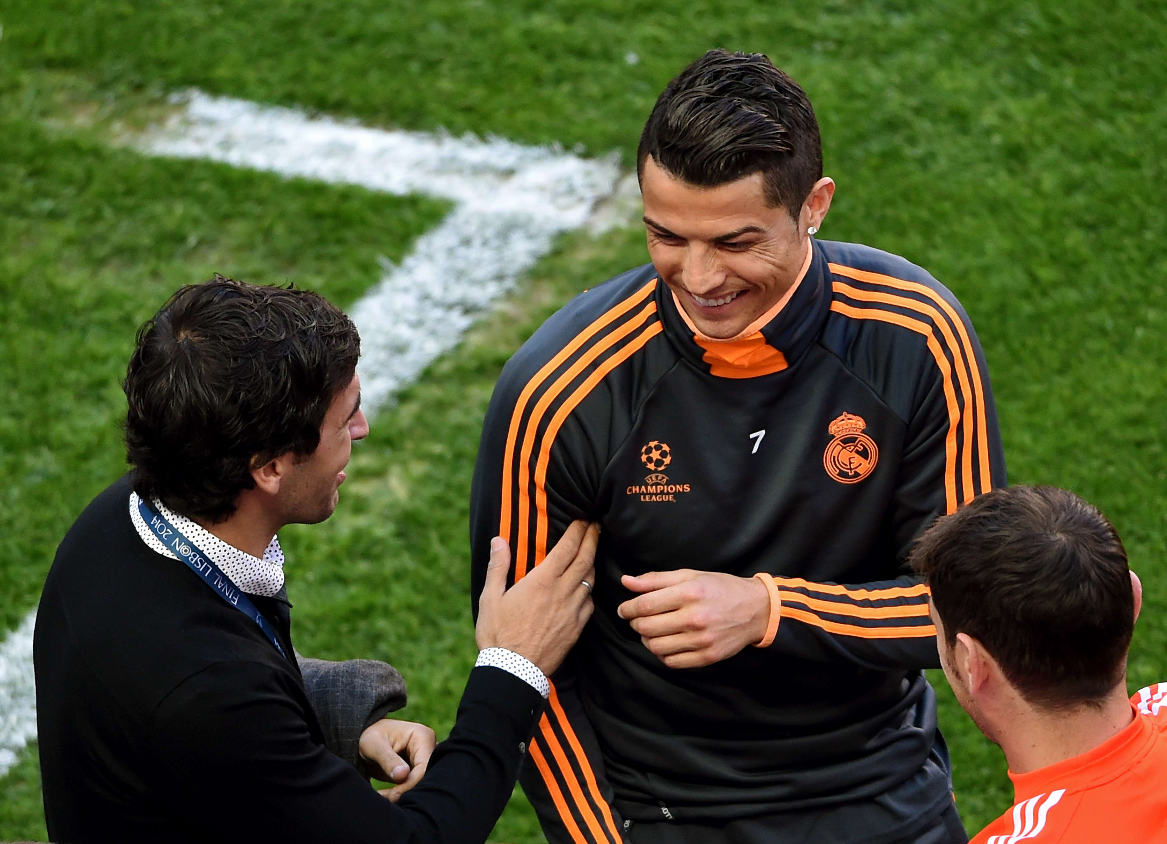Raúl y Cristiano Ronaldo. Foto: Getty Images