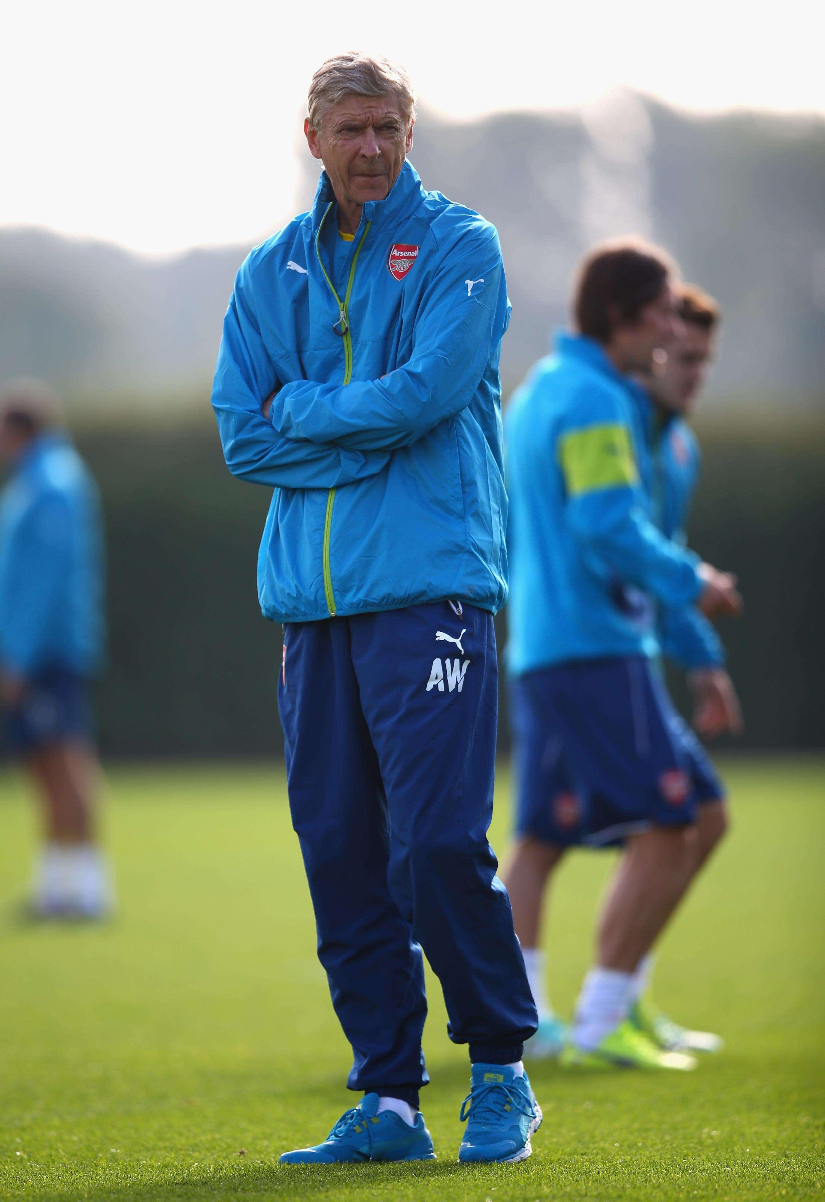 Wenger no quiere dejar ir puntos en casa. Foto: Getty Images