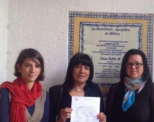 Autoridades de la sede apostólica dieron acuse de recibido a las feministas católicas. Foto: Católicas por el Derecho a Decidir