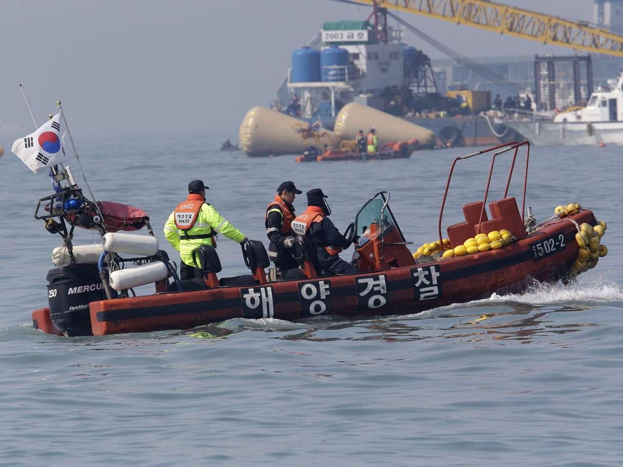 El pasado 16 de abril el ferri Sewol naufragó y dejó un saldo de 304 muertos, la mayoría estudiantes Foto: AFP/Archivo