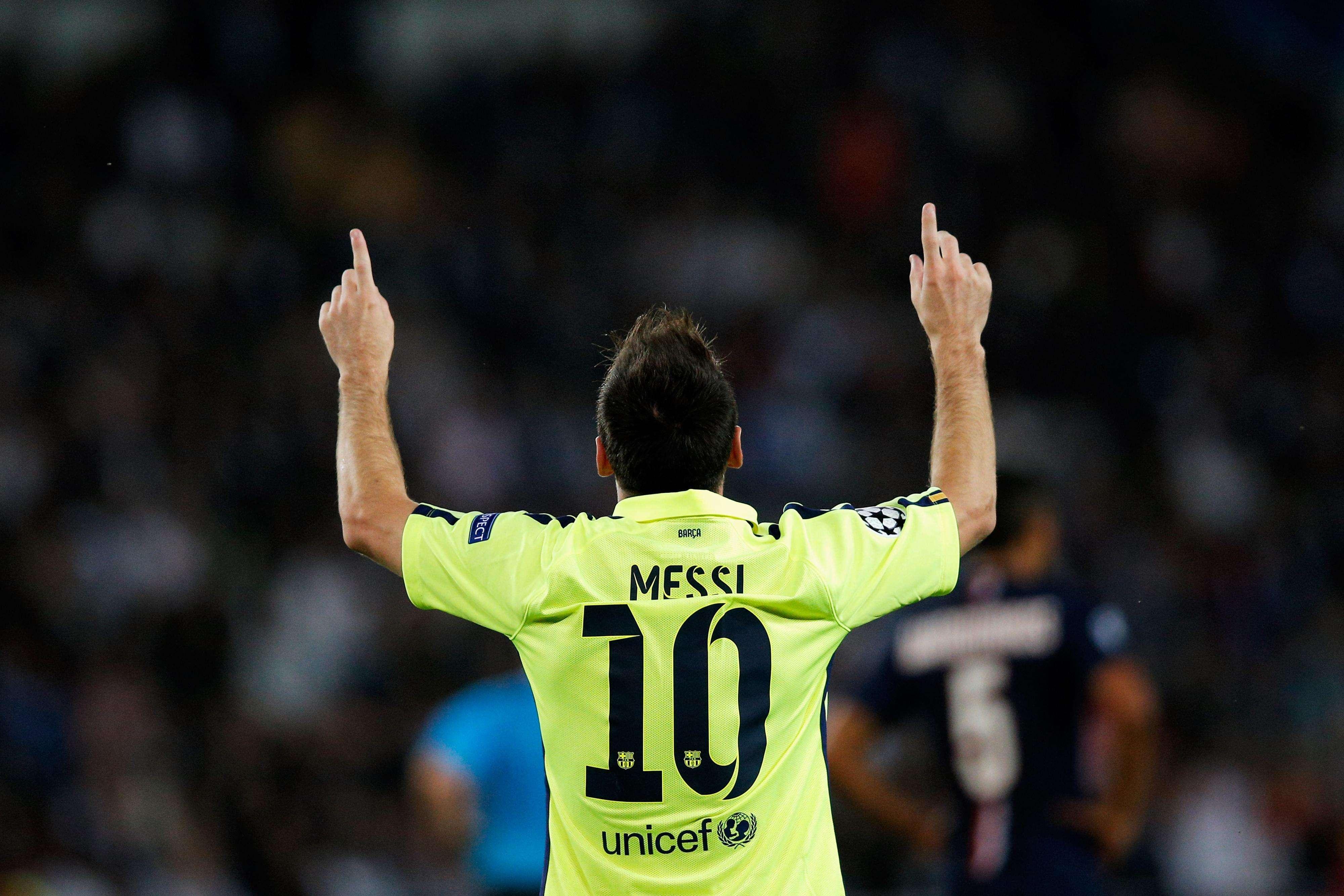 Pese a marcar un tanto histórico, Messi y los culés cayeron en Francia Foto: Getty Images