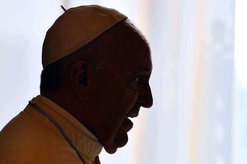 Papa Francisco durante audiência no Vaticano com a presidente de Malta, Marie-Louise Coleiro. 29/09/2014 Foto: Gabriel Bouys/Reuters