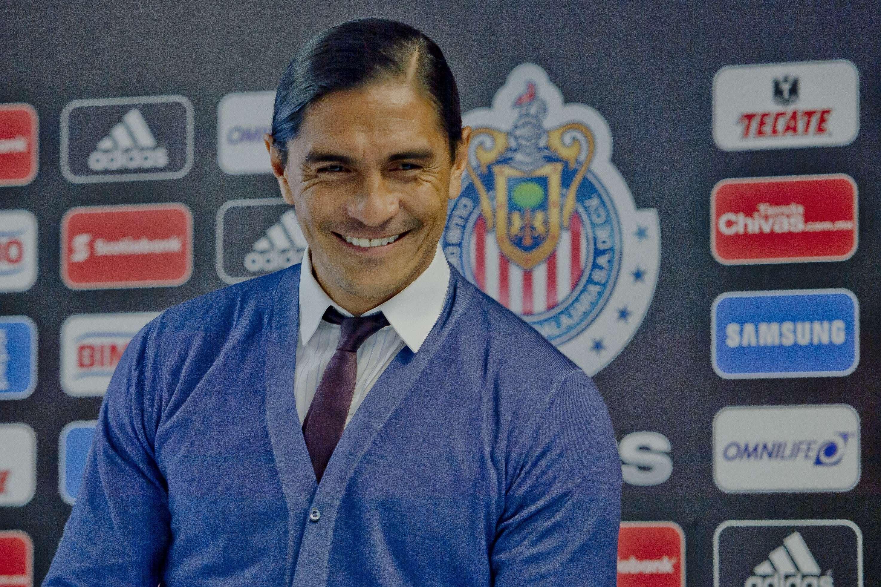 Francisco Palencia al momento de renunciar como directivo de las Chivas. Foto: Mexsport