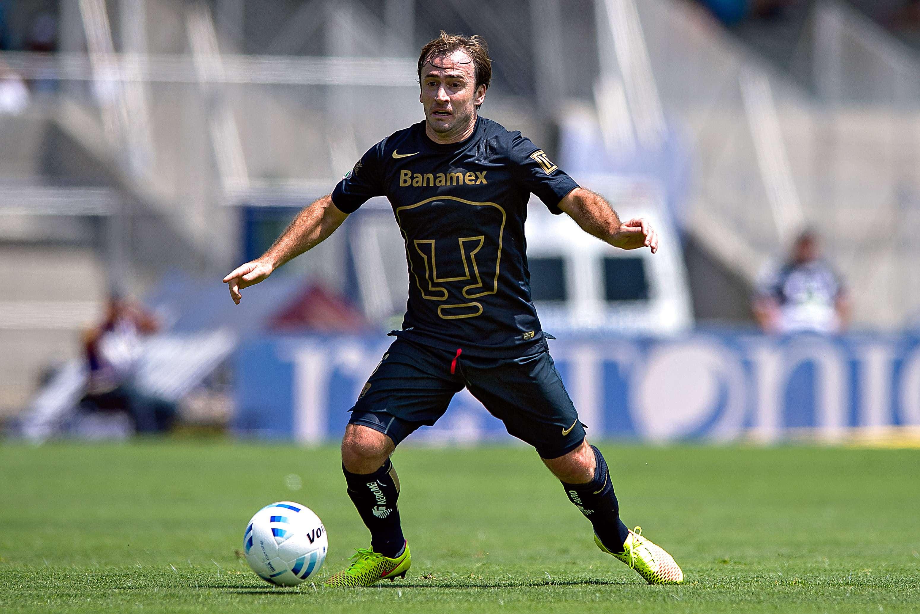 Martín Romagnoli, mediocampista de los Pumas de la UNAM. Foto: Mexsport