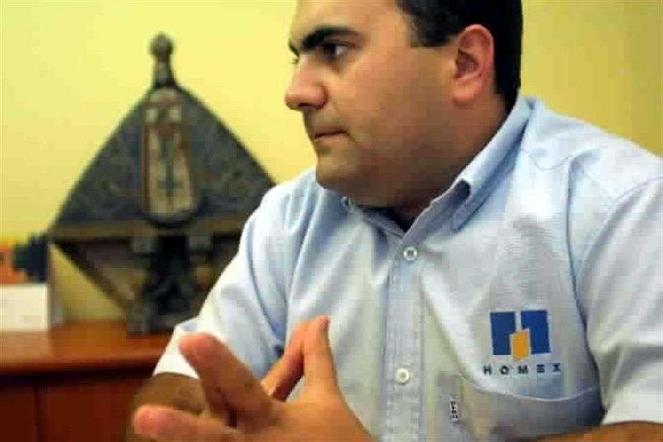 Julián de Nicolás Gutiérrez, socio de la empresa viviendera Homex. Foto: Reforma