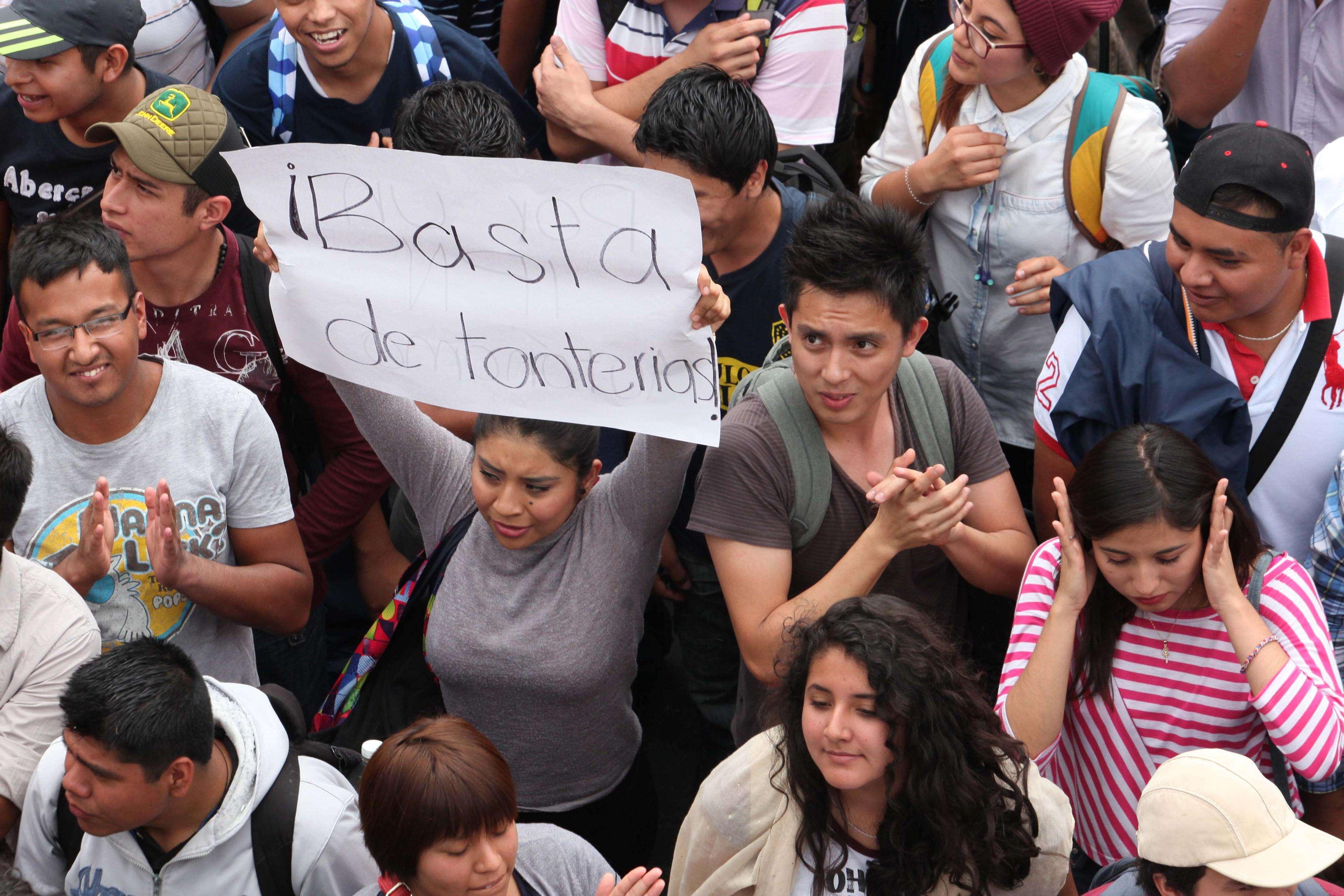"""""""Demostremos nuestra educación y dejemos en alto el nombre de la escuela"""", instan los organizadores de la movilización. Foto: Archivo/Terra"""