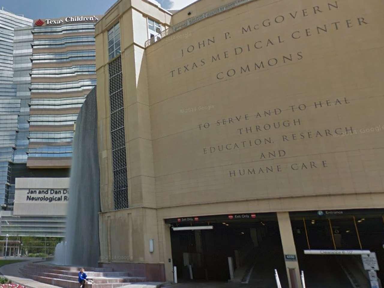 La entonces pareja se conoció Centro Médico de Texas, donde ambos trabajaban Foto: Imagen tomada de Google Maps