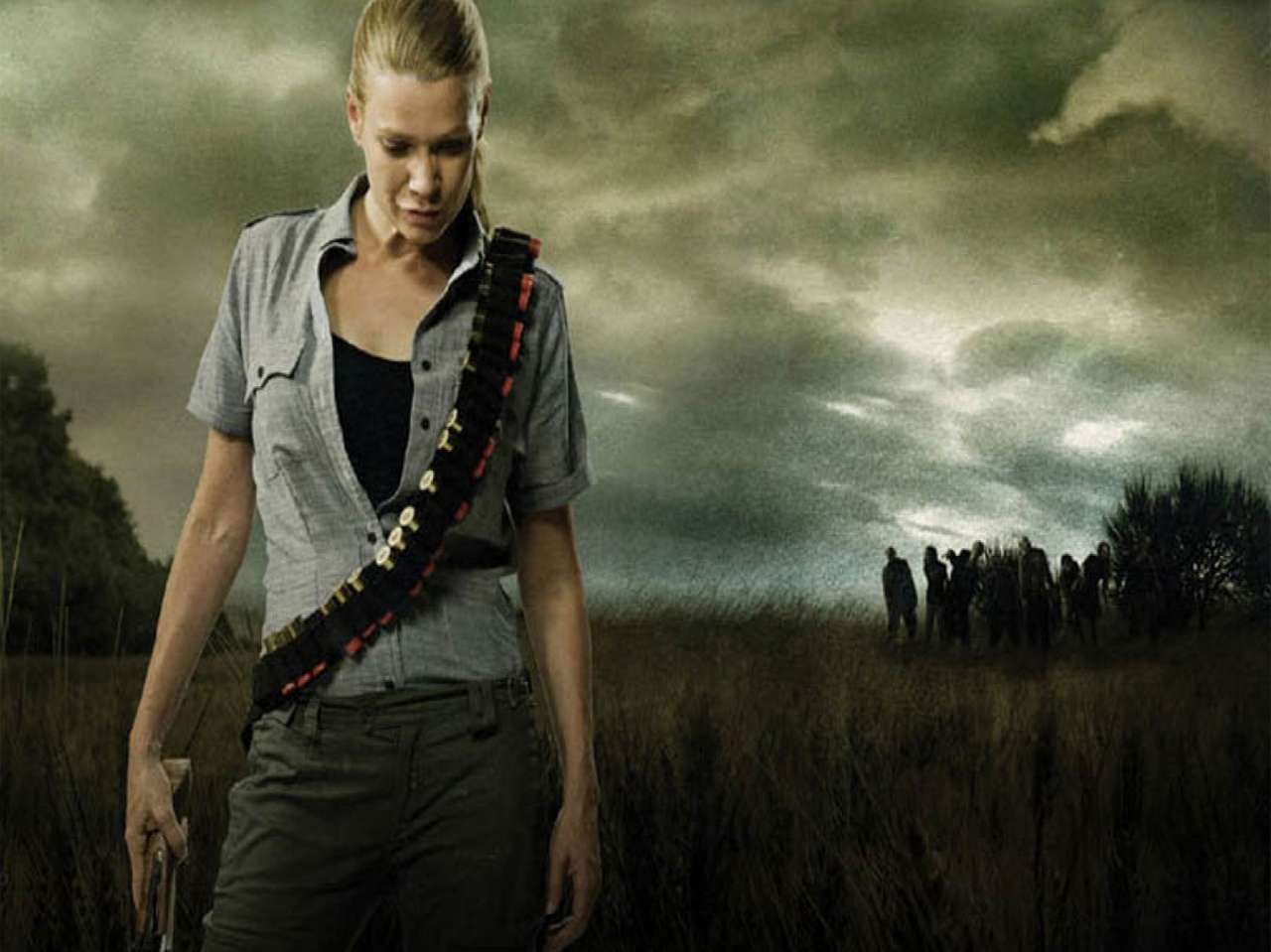 'Andrea' de 'The Walking Dead'. Foto: AMC