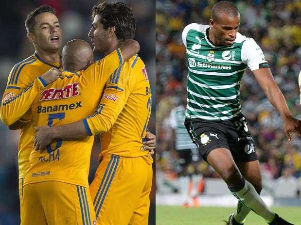 Tigres vs. Santos Foto: Mexsport