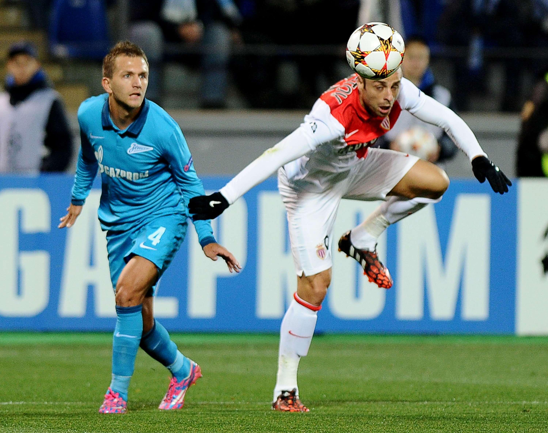 Zenit y Mónaco empatan 0-0 en St. Petersburgo. Foto: AFP