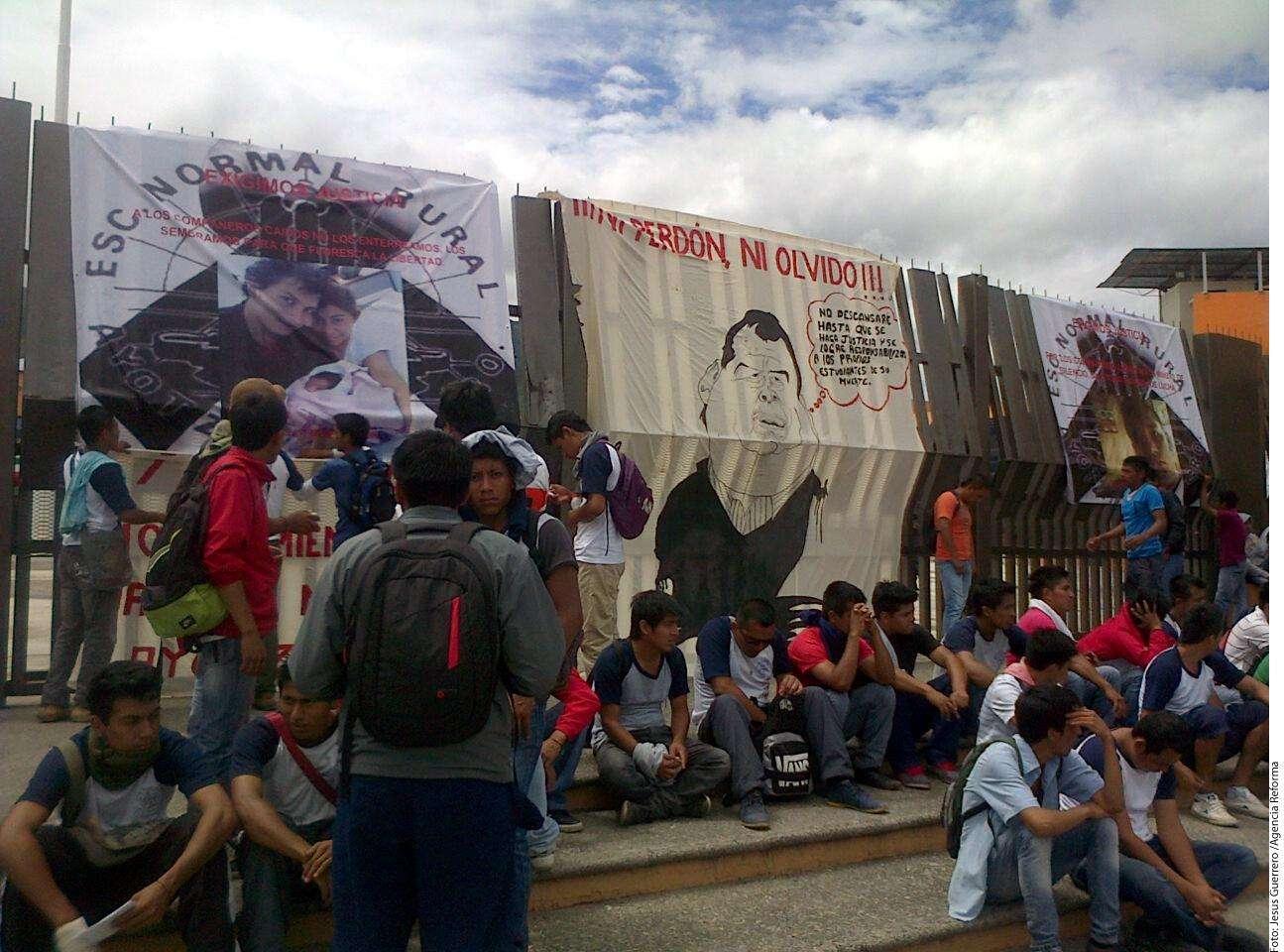 Protestas en Iguala Foto: Agencia Reforma