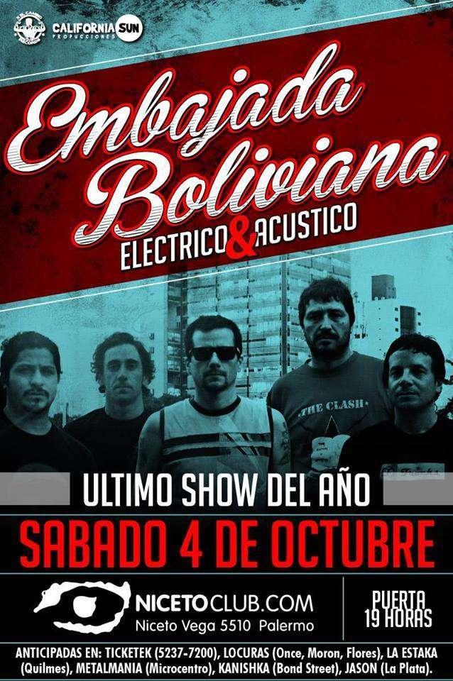 """""""Ahora se justifica mucho más ir a ver Embajada Boliviana"""""""