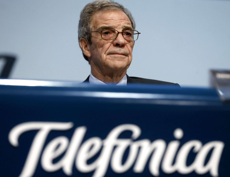 César Alierta. Foto: EFE
