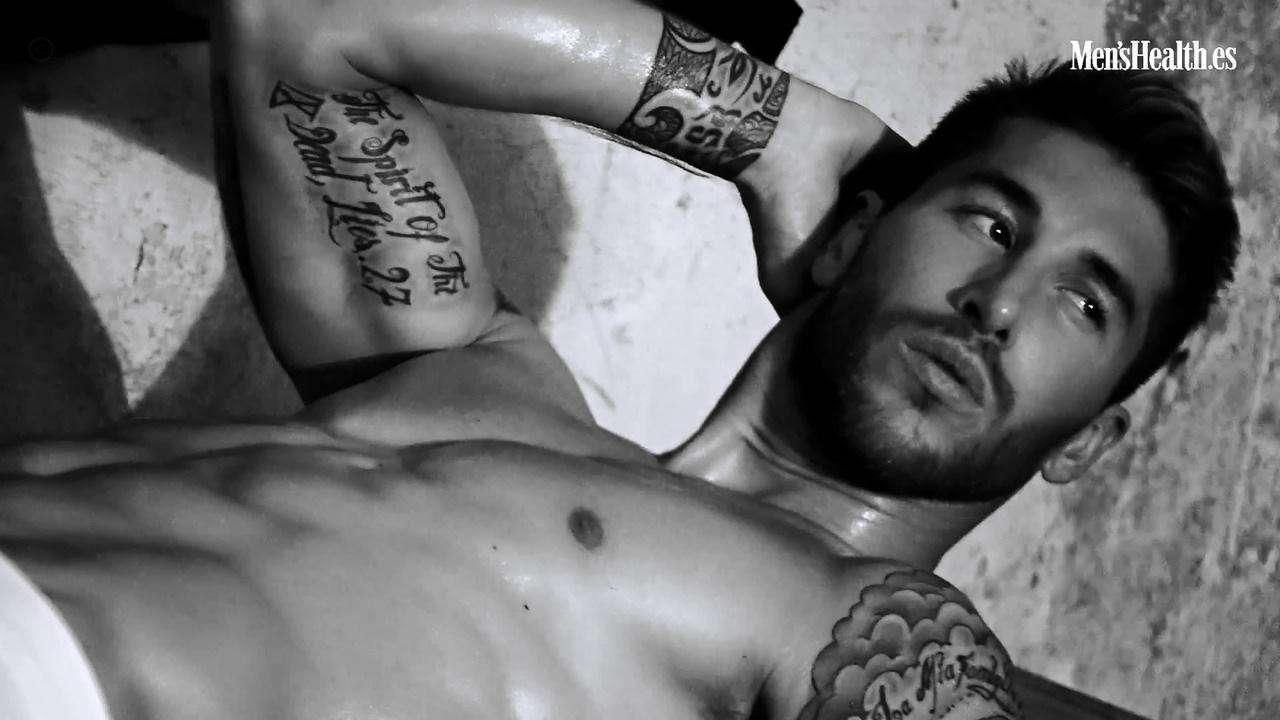 Sergio Ramos. Foto: Mens Health