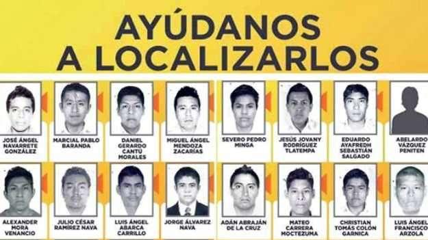 Los estudiantes desaparecidos. Foto: BBCMundo.com