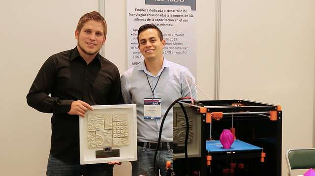 La empresa Maker Mex creó una impresora que a partir de polímeros (plástico) pueden generar desde maquetas hasta prótesis funcionales a bajo costo. Foto: Agencia ID