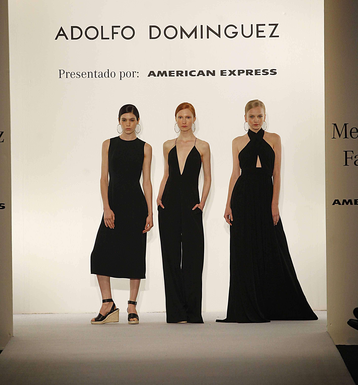 Adolfo Domínguez desfila en la pasarela de Mercedes-Benz Fashion Week México Foto: Ulises Bravo/Terra