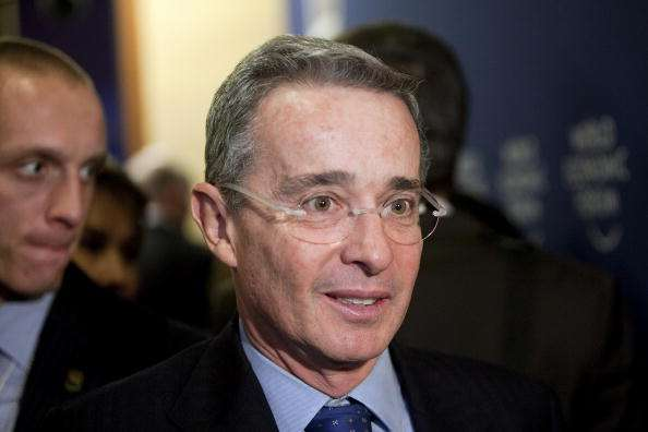 Álvaro Uribe Foto: Getty Images