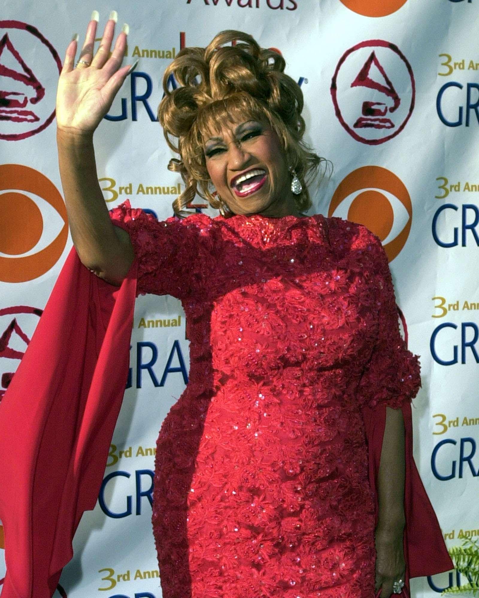 Celia Cruz. Foto: AP en español