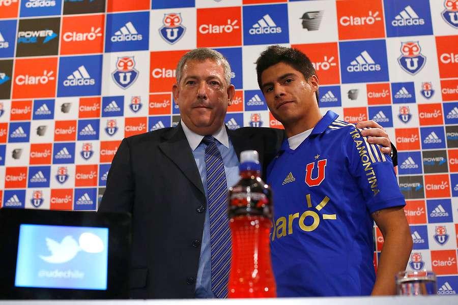 Vidal ha participad poco en el primer equipo. Foto: Agencia UNO