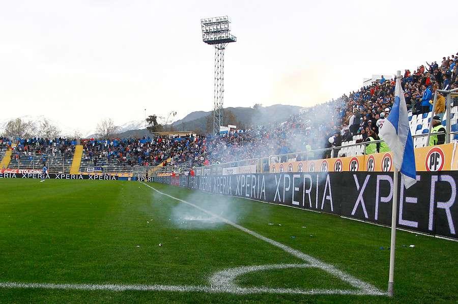 Violencia en los estadios Foto: Agencia UNO