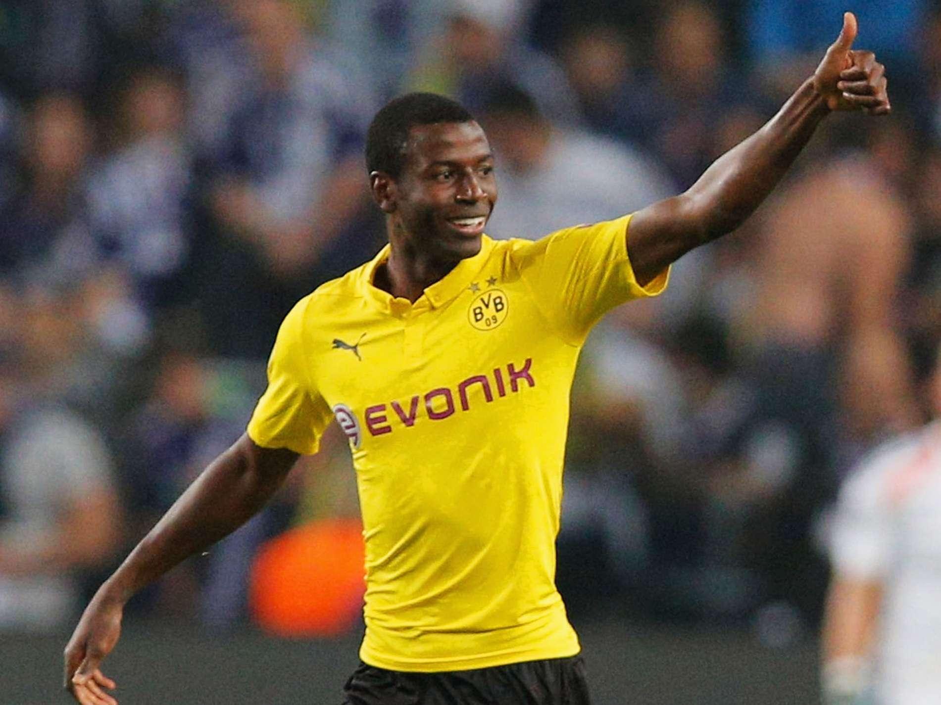Adrián Ramos ingresó de cambio y marcó dos goles en el triunfo de Borussia Dortmund sobre Anderelcht. Foto: Getty Images