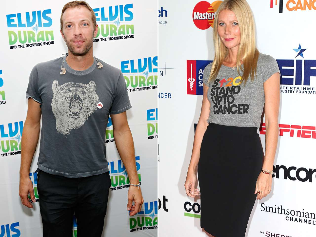 Chris Martin y Gwyneth Paltrow. Foto: Getty Images