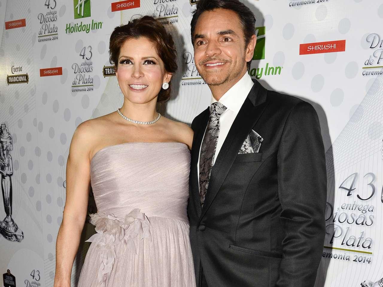 Eugenio Derbez y Alessandra Rosaldo. Foto: Medios y Media