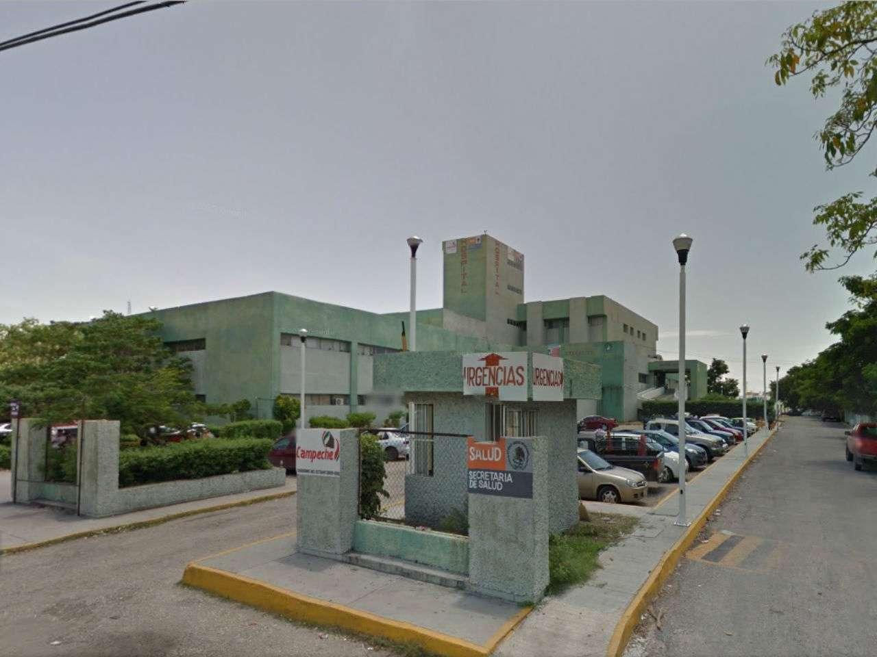 """El paciente africano fue internado en el Hospital General de Ciudad del Carmen """"Dra. María del Socorro Quiroga Aguilar"""". Foto: Google Maps"""