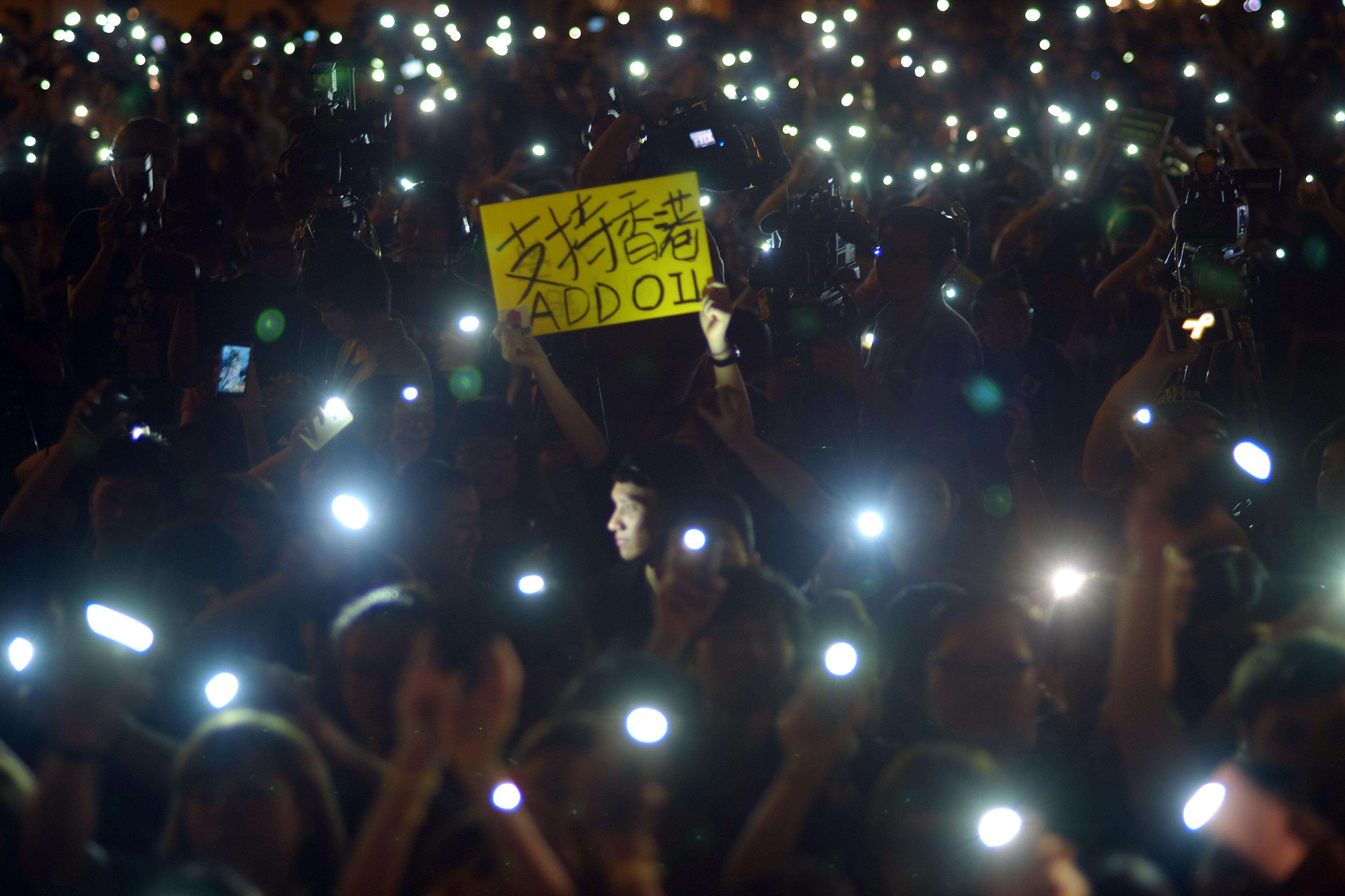 Las imágenes más impactantes del 1 de octubre de 2014 Foto: AFP en español