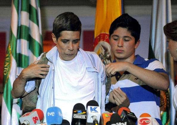 Alan Jara, quien fue secuestrado por las Farc, está en la tercera delegación de víctimas que viajará a La Habana a los diálogos de paz entre el Gobierno y el grupo guerrillero Foto: Getty Images