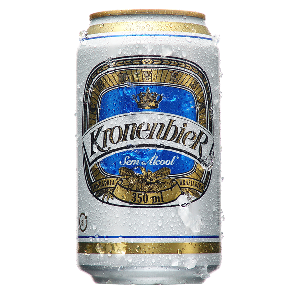 Kronenbier contém a presença de 0,3 gramas de álcool para cada 100 gramas Foto: Reprodução