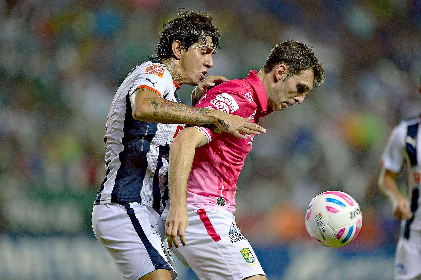 León vs. Monterrey Foto: Mexsport