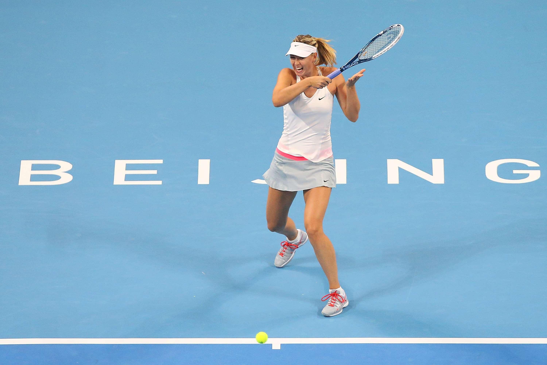Maria Sharapova eliminó a Carla Suárez. Foto: Getty Images