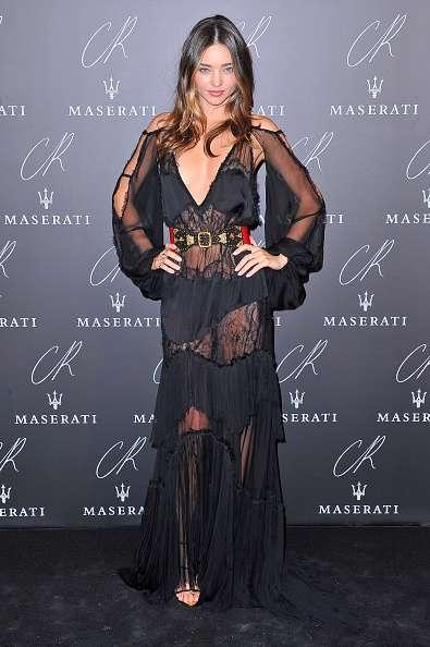 Miranda Kerr viste sensuales transparencias Foto: Getty Images