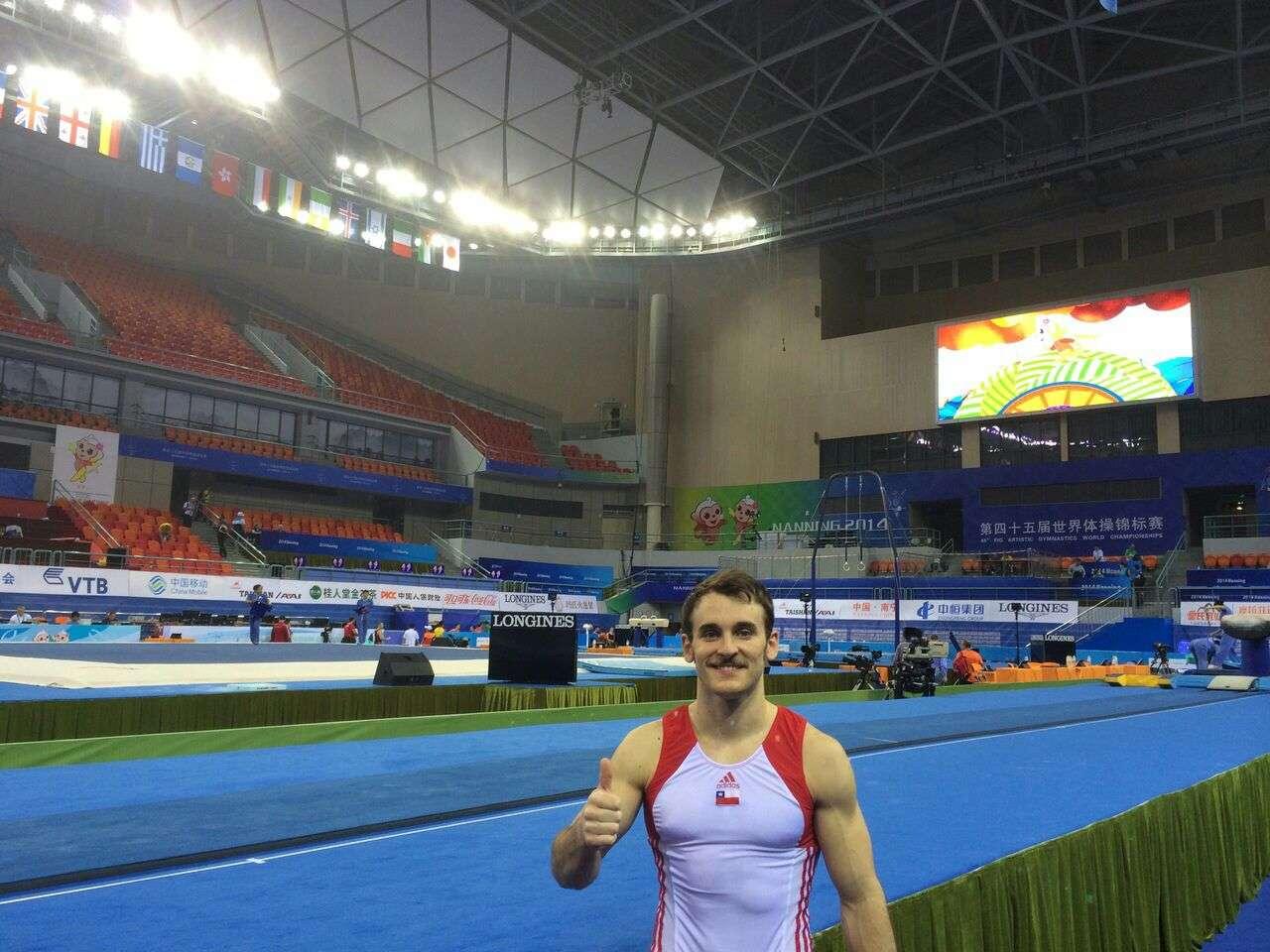 Tomás González compite desde este viernes. Foto: Gentileza Olimpia Comunicaciones