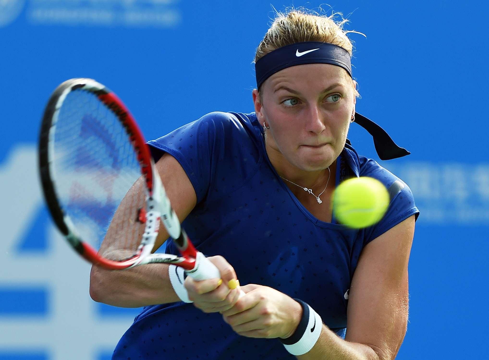 Petra Kvitova ganó su partido. Foto: AFP