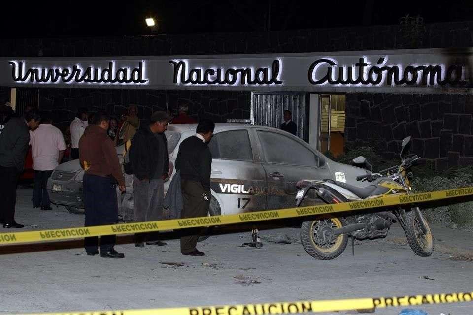 El ataque ocurrió en la entrada a CU, sobre Avenida Universidad y el Eje 10 Sur. Foto: Archivo/Reforma