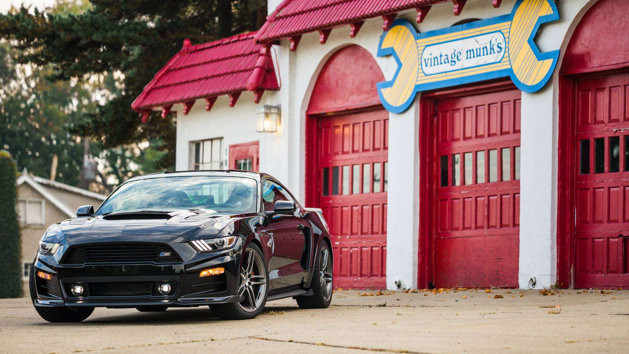 Ford Mustang 2015 by Roush Foto: Roush & www.automobilemag.com Roush
