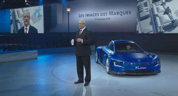 El VW Sport Concept está basado sobre la plataforma del XL!, pero cuenta con un corazón Ducati Foto: Terra