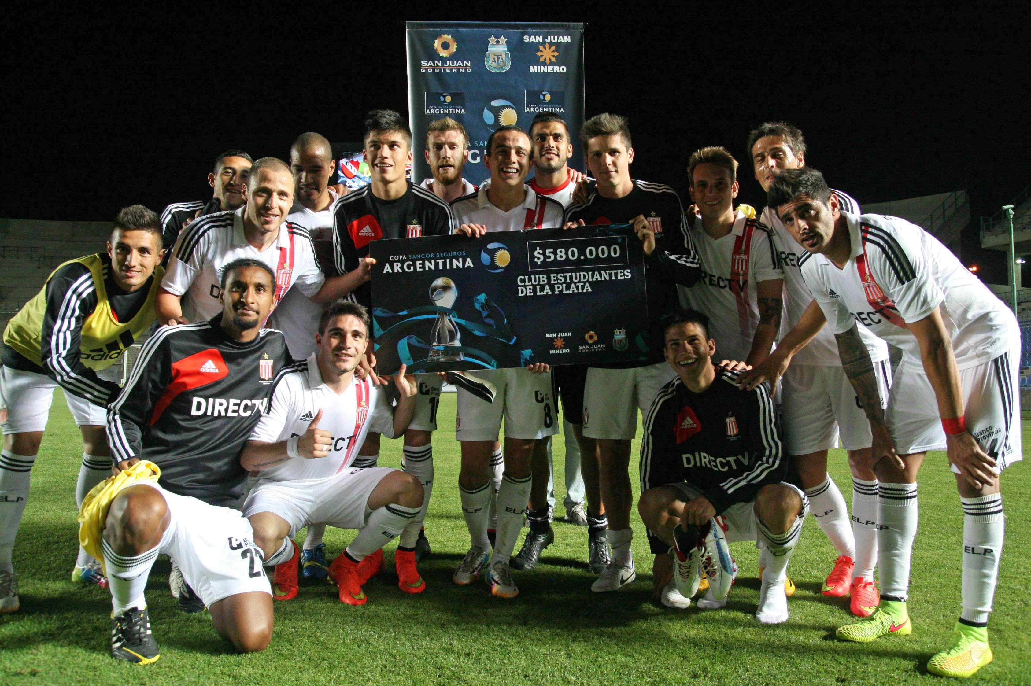Estudiantes avanza en la Copa Argentina Foto: Agencias