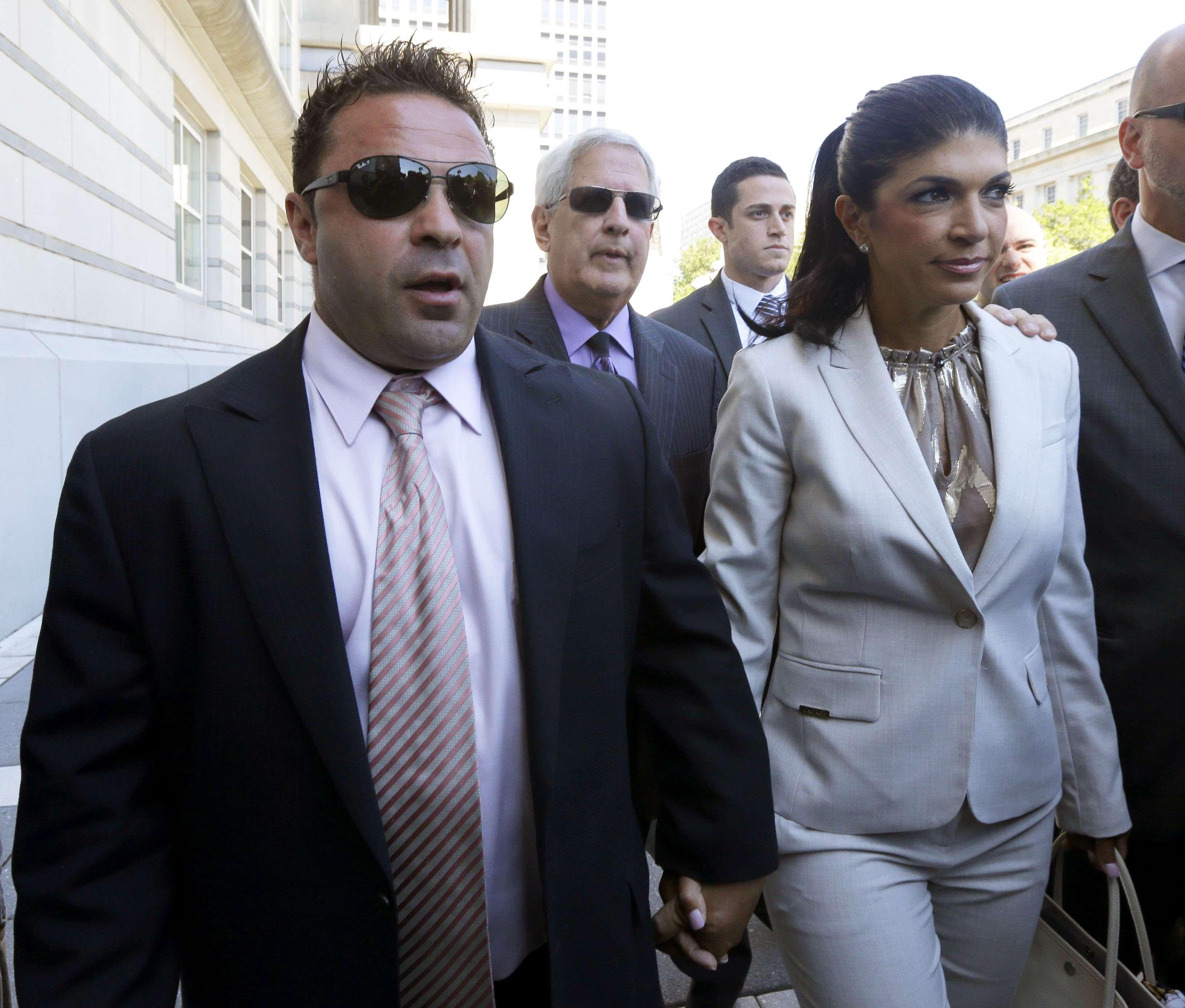 Teresa y Joe Giudice. Foto: AP en español