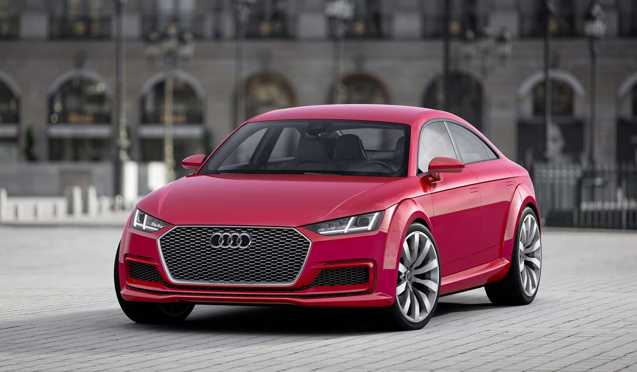 Audi TT Sportback Concept Foto: Audi