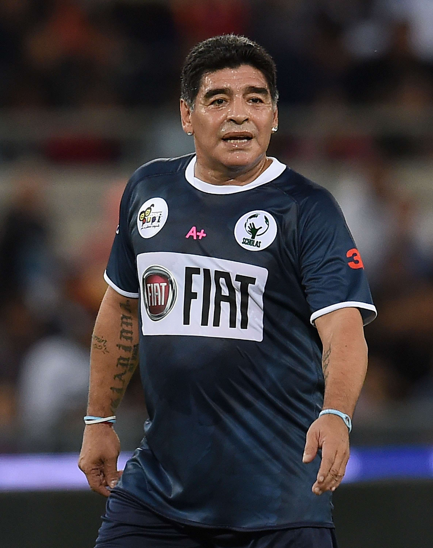 Maradona no será estratega d ela selección de Palestina. Foto: Getty Images