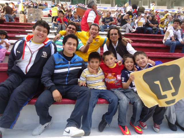 Los fanáticos gozaron este miércoles en la Angelópolis con el duelo de la Liga MX entre Puebla y los Pumas de la UNAM, que vinieron de atrás para imponerse 2-1 en el estadio Cuauhtémoc. Foto: TERRA