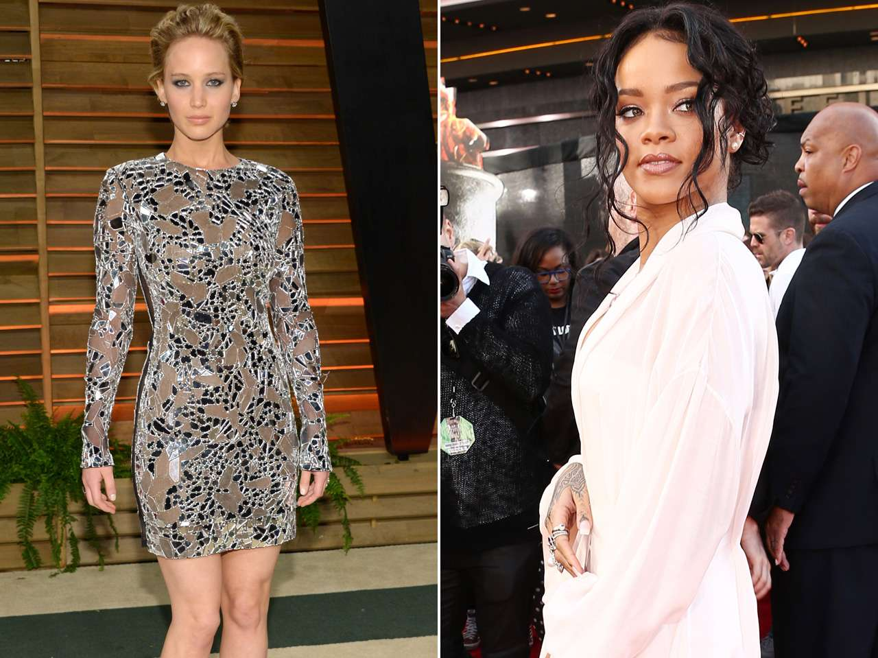 Google Jennifer Lawrence Rihanna Foto: AP / Getty Images