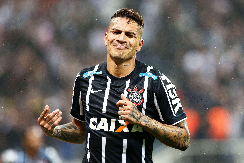 Guerrero abriu o placar para o Corinthians contra Atlético-MG Foto: Wagner Carmo/Vipcomm