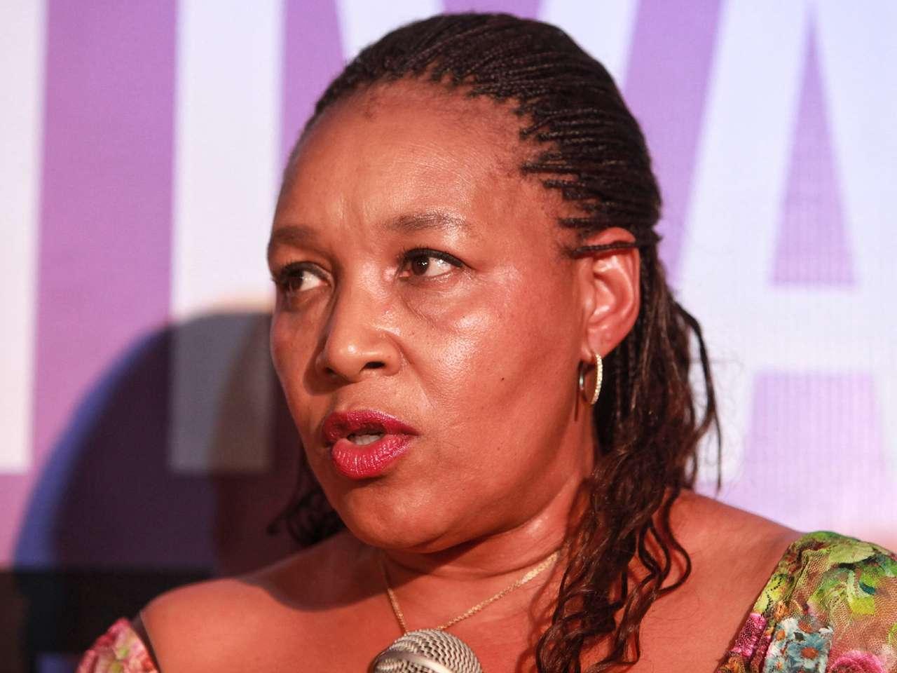 La hija del expresidente sudafricano Nelson Mandela, Zenani Dlamini, participó en la inauguración del Festival Internacional de Cine y foro de Derechos Humanos en Ciudad de México Foto: EFE