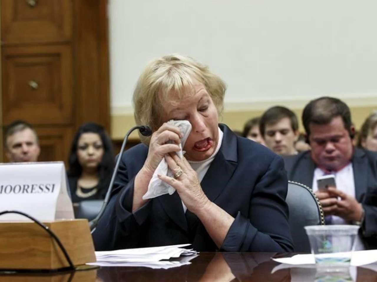 Jill Tahmooressi declaró ante una comisión de la Cámara de Representantes Foto: AP en español