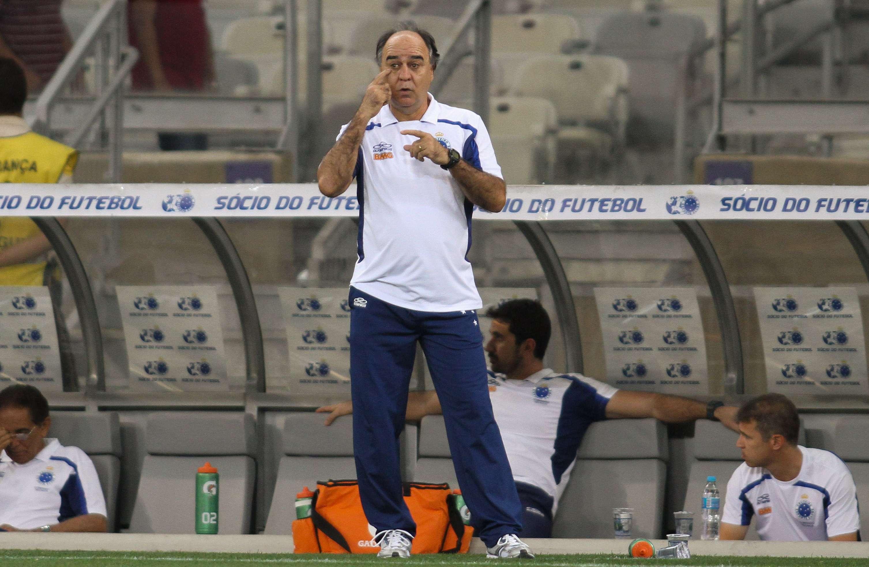 Marcelo Oliveira comanda Cruzeiro em confronto pela Copa do Brasil Foto: Gil Leonardi/Agência Lance